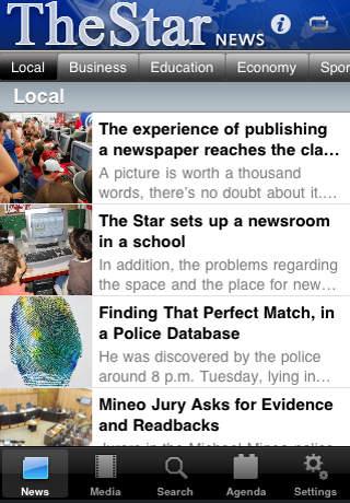 The Star - News App - Ads iPhone Screenshot 1