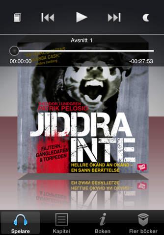Jiddra inte (av Patrik Pelosio & Theodor Lundgren): ListenApp