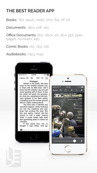 TotalReader Lite - The BEST eBook reader for epub, fb2, pdf, djvu, mobi, rtf, txt, chm, cbz, cbr