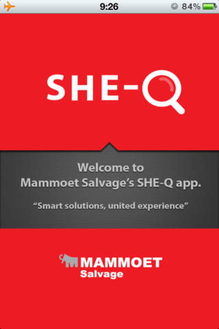 SHE-Q for Mammoet Salvage