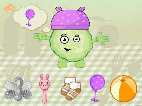 Скачать Смешные овощи! Развивающие игры для детей и малышей: логика, счет, цвета, задачи. Обучение и развитие для дошкольников, детские занятия
