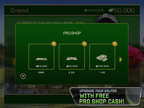 Tiger Woods PGA TOUR® 12 for iPad  Screenshot