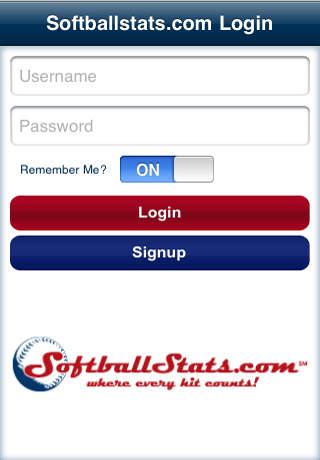 Softballstats.com Mobile