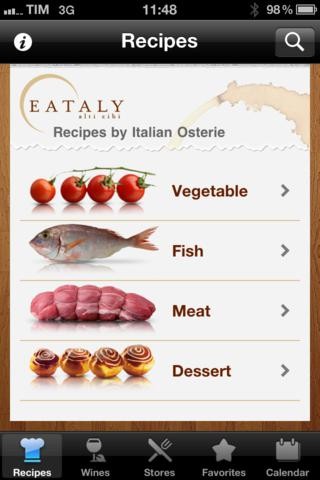 Eataly - The Recipes