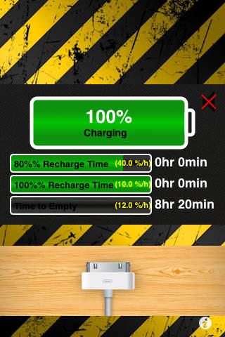 完全充电的充电器锁+充电器分离检测+通知