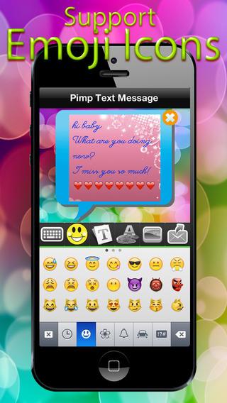 Pimp Text Message App - What`s Cute Webmail,Zoosk Textart Apps