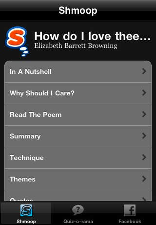 How Do I Love Thee - Sonnet 43 - Study Guide Quiz-o-Rama