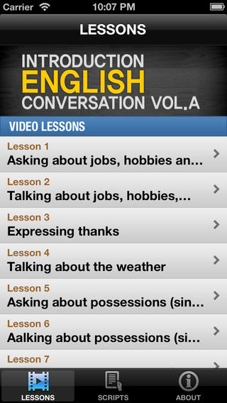 英语对话教学第1卷 Introduction English Vol.A【700M视频教程】