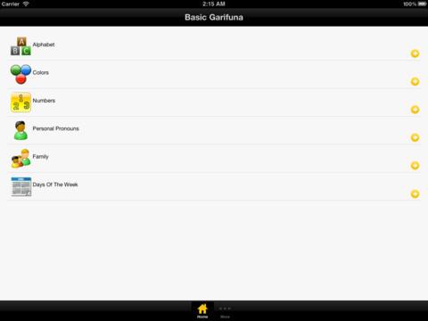 【免費教育App】Basic Garifuna-APP點子