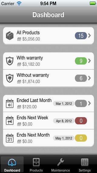 Warranty Tracker Lite