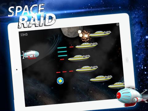 Space Raid Free App
