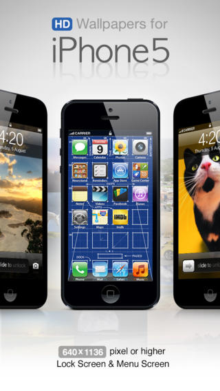 All-in-1 HD Wallpapers for iPhone 5