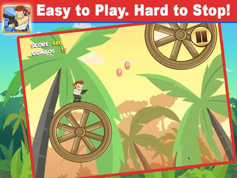 玩免費遊戲APP|下載Adventurambo - Jumping Jungle Survival Puzzle Adventure Game app不用錢|硬是要APP
