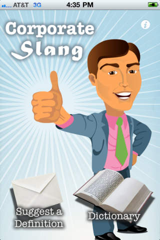 Corporate Slang - Guide to business jargon, corporatese, management and consultant speak iPhone Screenshot 1