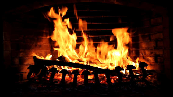 Fireplace live HD: Relaxing romantic fires & Soothing white noise sounds to fall asleep