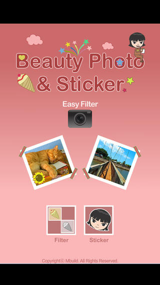 Beauty Photo Stickers [filter sticker photo]