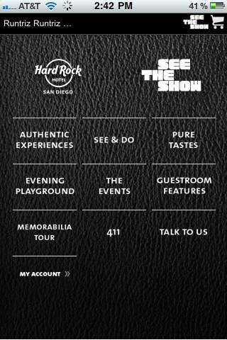 Hard Rock Hotel San Diego Tour Manager