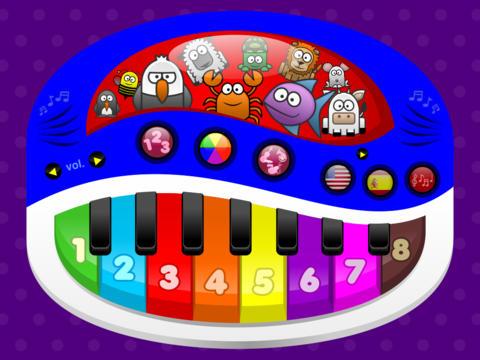 Baby Klavier Musik Magie: Lerne Zahlen Farben und Mitsingen