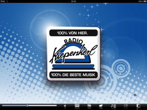Radio Kiepenkerl - iPad Version iPad Screenshot 1