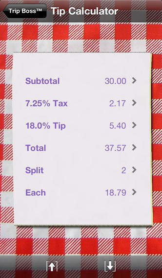 Trip Boss travel manager - Expense and Budget edition, with tip and currency calculators iPhone Screenshot 4