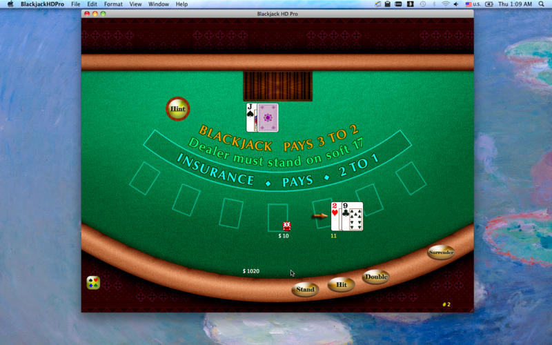 BlackjackHDPro Screenshot