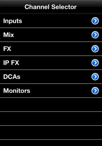 Allen & Heath iLive Tweak iPhone Screenshot 3