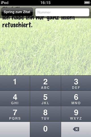 Fußballerzitate iPhone Screenshot 3