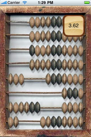 Cashier Abacus