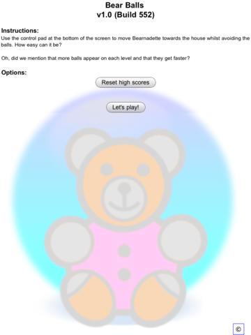 玩免費遊戲APP|下載Bear Balls app不用錢|硬是要APP