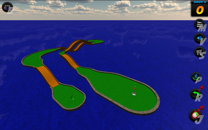 Mini Golf Stars Putt Putt Game Screenshot - 5
