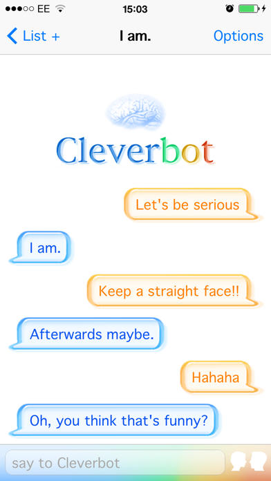 Cleverbot - iPhone Mobile Analytics and App Store Data