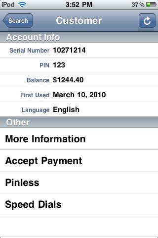 CardSaver iAgent iPhone Screenshot 3