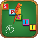 Spelling Grades 1-5: Level Appropriate Word Games for Kids - Powered by WordSizzler mobile app icon