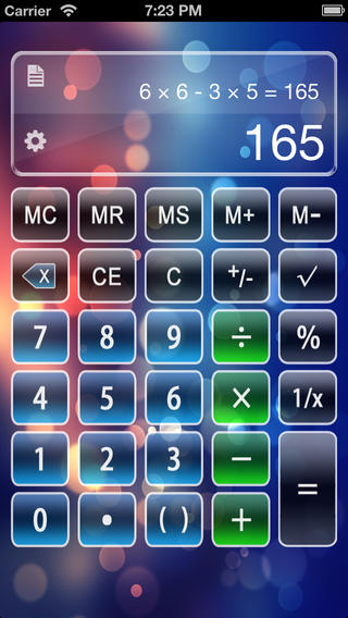 Calculator X Free - Advanced Scientific Calculator with Formula Display Notable Tape