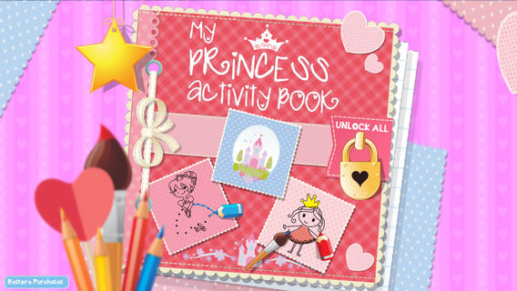 My Princess Activity Book