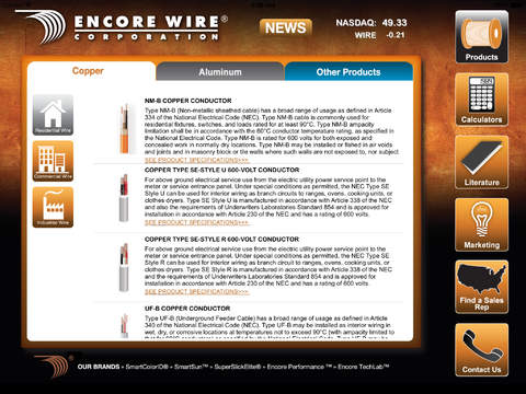 Encore Wire for iPad