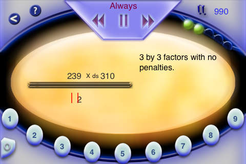 Mercury Math Lite screenshot 2