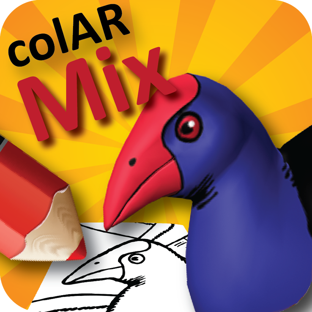 Colar Mix 3d Coloring Book : Colar mix colouring pages page