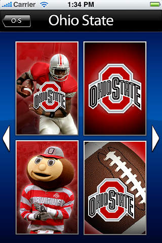 College Football Logos iPhone Screenshot 5