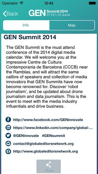 GEN Summit 2014