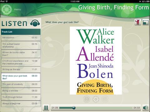 玩免費生活APP|下載Giving Birth, Finding Form - Alice Walker, Isabel Allendé app不用錢|硬是要APP