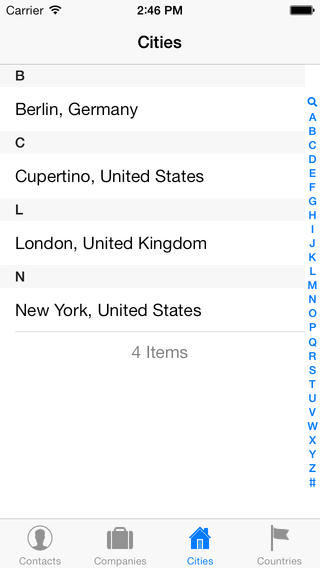 Contacts XT iPhone Screenshot 5