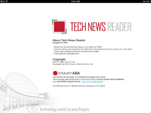 TechNewsReader