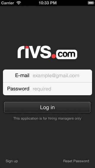 RIVS Manager
