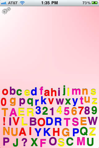 Letters Board iPhone Screenshot 2