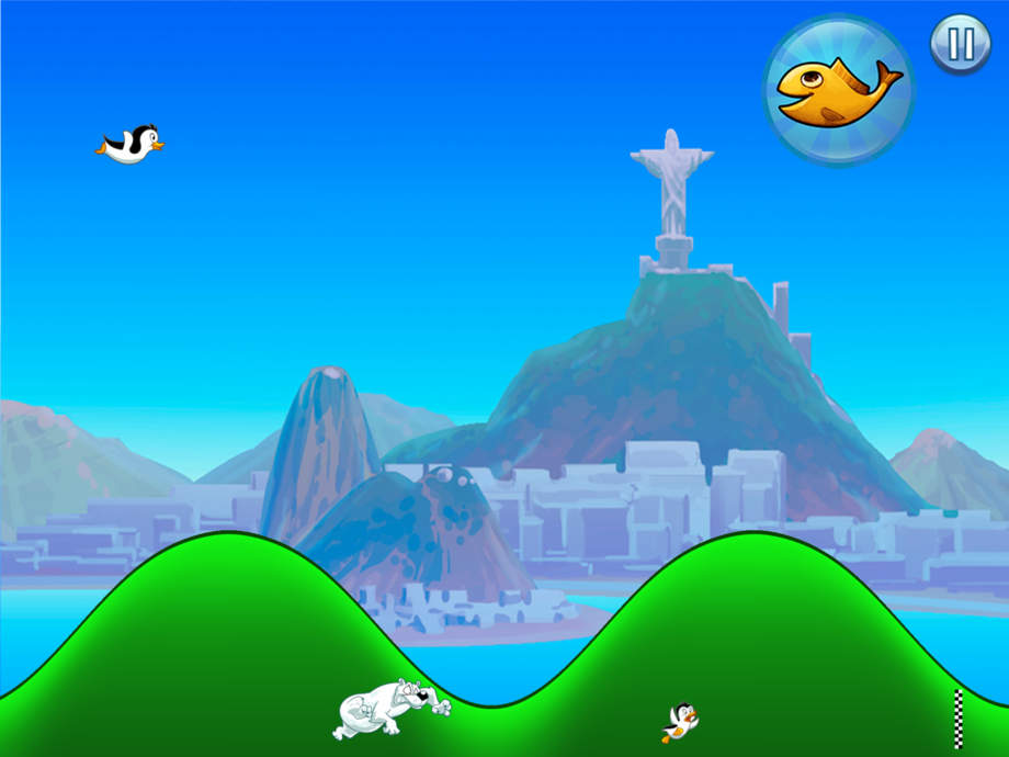 Racing Penguin, Flying Free - by Top Free Games - iPhone Mobile Analytics and App Store Data