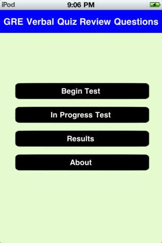 GRE Quiz - Verbal