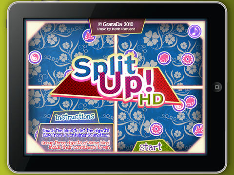 SplitUp! HD screenshot 2