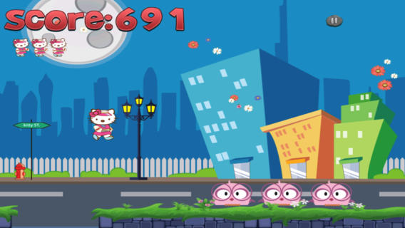 Hello Kitty Run - Best Cool Funny Games For Kids boys Girls Free