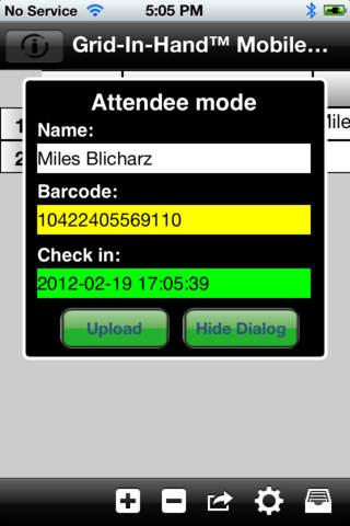 Grid-In-Hand(tm) Mobile Grid Plus